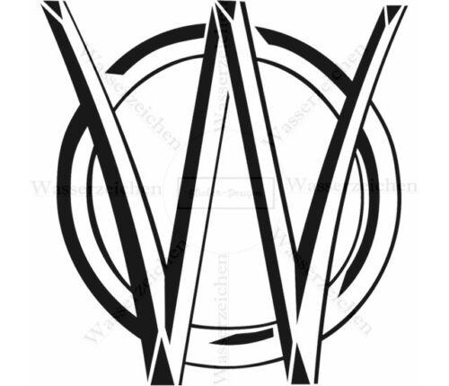 10cm-AUFKLEBER Willys-Overland-Logo AB110 UV/&Waschanlagenfest Auto kratzfest