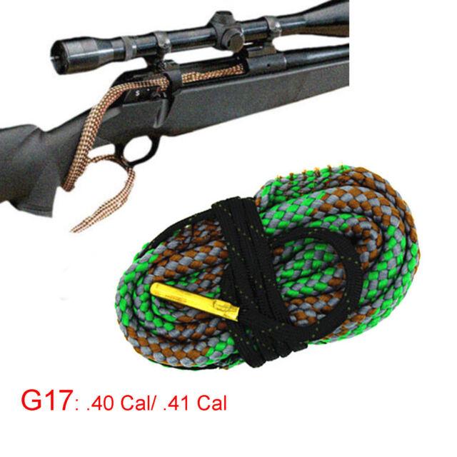 Xhunter Bore Brush .40Cal .41Cal Borebrush Cleaning Kit Snake Rifle Cleaner G17