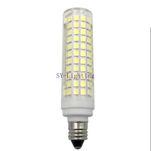 3pcs E11 10W 136 SMD LEDs Bulbs Ceramic Lamp Light Pure White 120V Ultra bright