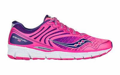 Details about Saucony Breakthru 2 Women's Running Shoes Size 8.5 Pink Navy S10304 3 New wBox
