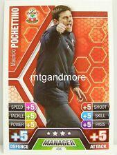 Match Attax 2013/14 Premier League - #434 Mauricio Pochettino - Southampton