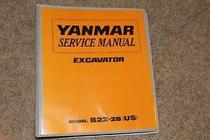 Yanmar sv08-1 excavator service repair workshop manual download d.