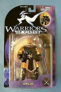 "WARRIORS OF VIRTUE Action Figure GRILLO Play/'em 6/"" 71007"