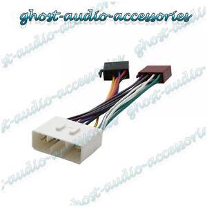 iso wiring harness connector adaptor stereo radio lead loom for rh ebay com Truck Wiring Harness daewoo matiz wiring harness
