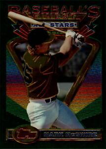 1993 (ATHLETICS) Finest Jumbos #92 Mark McGwire /1500