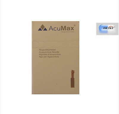Acupuncture Natural & Alternative Remedies Dr T&t Acumax Acupuncture Needles 0.22 X 13 Mm With Guided Tube 500 Units Pack Delicious In Taste
