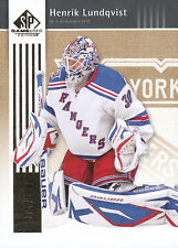 11-12 SP Game Used Henrik Lundqvist GOLD Parallel Base Card /100