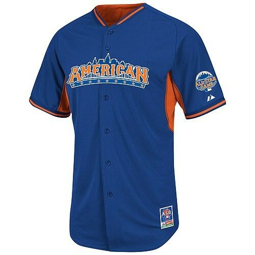 American League 2013 All-Star Game Authentic Batting Practice Baseball Jersey