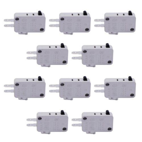 10pcs Universal Microwave Door Oven Freezer Micro Limit Switch Serie... TWTADE