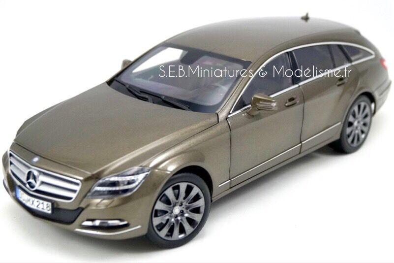 edición limitada Mercedes Benz CLS 500 Shooting Brake Brake Brake 2012 1 18 NOREV HQ  envio rapido a ti