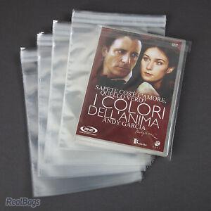 100-Pochettes-de-Protection-pour-DVD-avec-rabat-38-My-15-2x19-4-cm