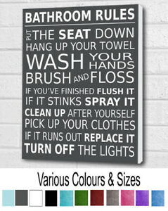 Bathroom Wall Art Hanging Picture