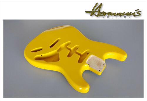 Alder Body Stratocaster Erle Body Finish High Gloss Graffity Yellow
