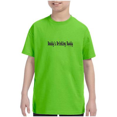 Daddy/'s Lil/' Baseball Buddy Game Day Baseball Peanuts Soft Drink Toddler T-Shirt