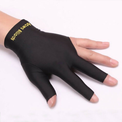 AG/_ JN/_ 1Pc Snooker Billiard Cue Gloves Pool Left Hand Open Three Finger Glove N