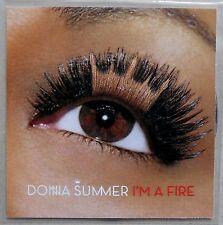 DONNA SUMMER * I'M A FIRE * UK 10 TRK PROMO * CRAYONS * CRAIG C * LOST DAZE