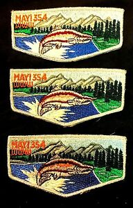 MERGED-MAYI-OA-354-LODGE-395-485-47-GOLDEN-EMPIRE-CA-SET-OF-3-RARE-VARIETY-FLAP