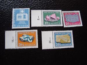 Switzerland-Stamp-Yvert-and-Tellier-N-677-A-681-N-A1-Stamp-Switzerland