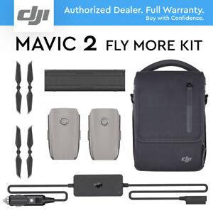 DJI-FLY-MORE-KIT-for-MAVIC-2-PRO-ZOOM-Shoulder-bag-Car-charger-2x-Battery