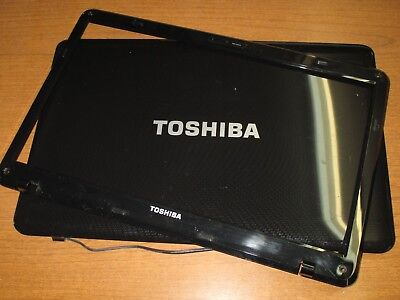 "Toshiba L655 L655D LCD Display Screen Back Cover Black 33BL6LC0I00 GRADE /""C/"""