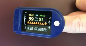 Finger Pulse German Oximeter SpO2 Blood Oxygen Saturation Pulse Monitor