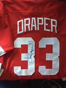 Image is loading Detroit-Red-Wings-Kris-Draper-Stanley-Cup-Autographed- dabff305f