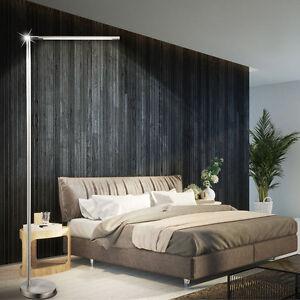 6W-LED-Stand-Leuchte-Schlaf-Zimmer-Dimmer-Beleuchtung-Beistell-Steh-Lampe-EEK-A