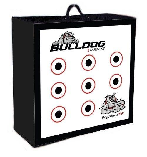 Nuevo Bulldog Original Doghouse Fp campo punto 24  X 24  x 9 1 2  Archery Target