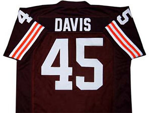 THE EXPRESS MOVIE - ERNIE DAVIS FOOTBALL JERSEY QUALITY SEWN NEW ANY ... 54ef240b5