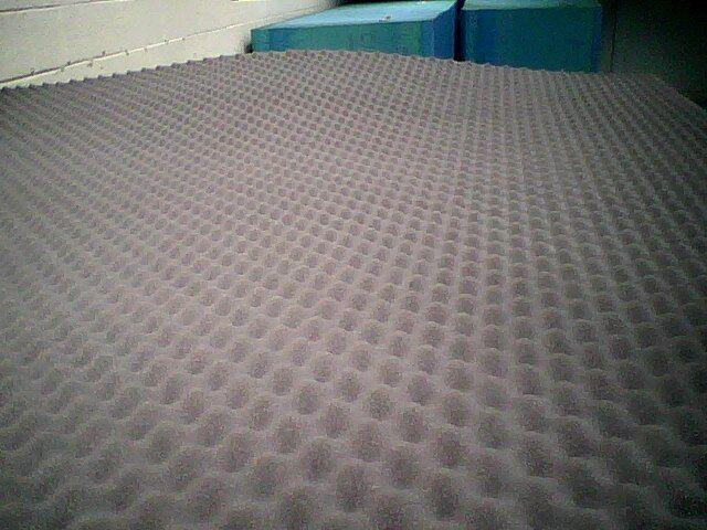 ACOUSTIC FOAM SHEET x 1 - (2500mm x 2000mm x 40mm)