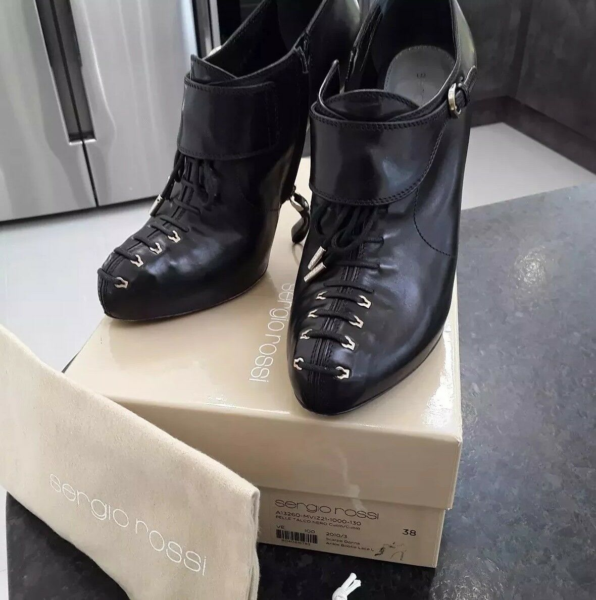 Sergio Rossi ankle booties size 5Reduced price