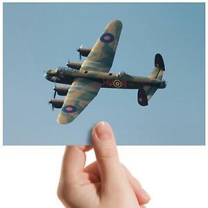 Avro-Lancaster-Bomber-Plane-Small-Photograph-6-034-x-4-034-Art-Print-Photo-Gift-13086