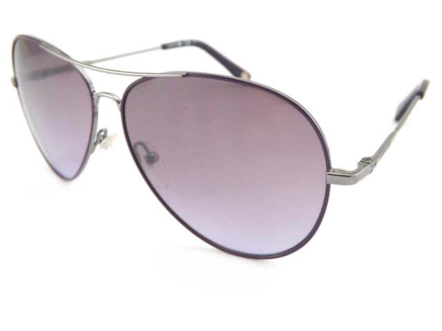 c4b69055bdcf LACOSTE Sunglasses Ruthenium with Purple   Violet Gradient Lens L174 035