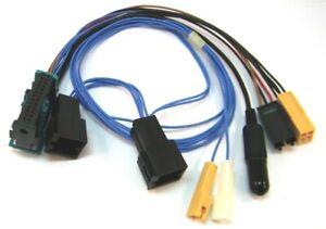 BLAUPUNKT-Anschluss-SET-Adapter-Kabel-Chinch-ISO-Stecker-Ersatzteil-8618841989-Sp
