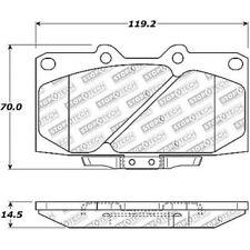 Disc Brake Pad Set-Street Brake Pads Front STOPTECH 308.11110