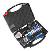 Kit Set Iron Stand Desolder Pump 60W 7 in1 DIY Electric Solder Starter Tool 220V