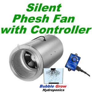 """Phresh 6/"""" Hyper Fan 150mm Hydroponic Digital Mixed Flow Extractor Hyperfan"""