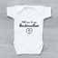Will you be my Godmother Heart Christening Cute Baby Grow Body Suit Vest