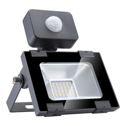 100W 50W 30W 20W 10W Outdoor Security Lighting PIR Motion Sensor LED Flood Light