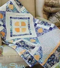 Blue Skies And Buttercups Quilt Pattern Pieced//Applique JS
