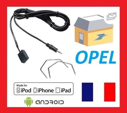 2 cles extraction Cable Auxiliaire aux jack MP3 pour autoradios d/'origine Opel