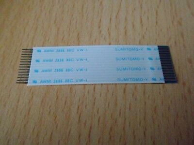 FFC Kabel 16polig 70mm lang RM1 AXON CABLE AWM 2896 80C VW-1 *Neu*