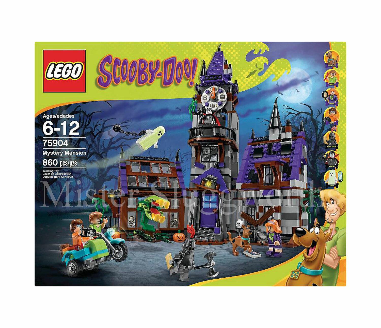 Nuevo Conjunto retirado Lego Scooby-Doo Misterio mansión MIB de sellado de fábrica 75904