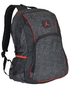 297a4b2deefb Image is loading Nike-Jordan-Backpack-Laptop-Storage-Inside-Jumpman-Logo-