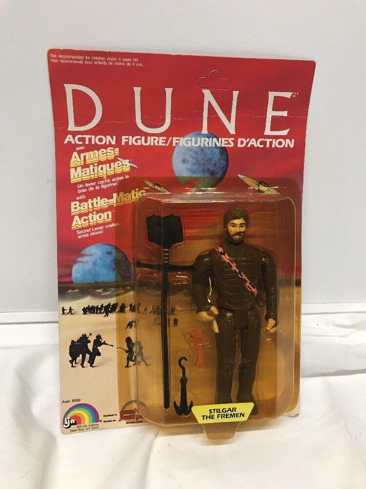 Vintage 1984 LJN DUNE Stilgar The Fremen  Action Figure NEW SEALED MOSC