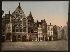 The Library Bruges A4 Photo Print