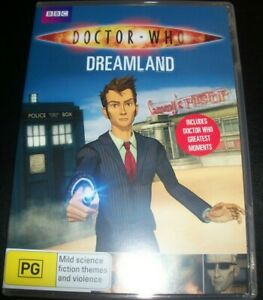 Doctor-Who-Dreamland-Australia-Region-4-DVD-Like-New