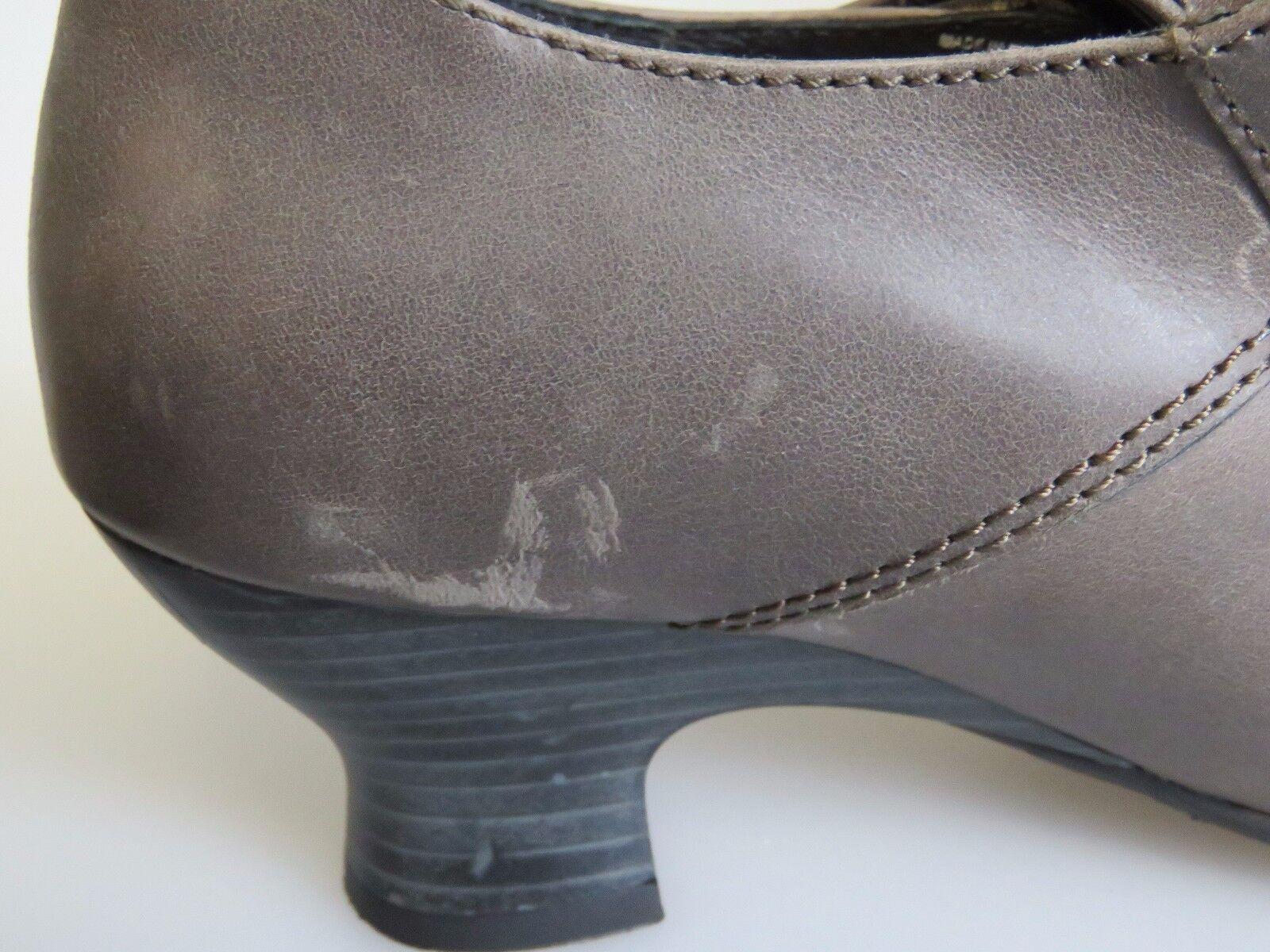 WOLKY Prague Prague Prague II Leather Heels Adjustable Hook & Loop Strap schuhe Sz 39 (US 8) 9fb7e1