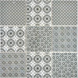 Dettagli su Mosaico Piastrella ceramica bagno parete doccia cucina nero  22B-0303   1 foglio