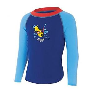 Boys-Diving-Dog-Swim-Top-Swimming-Shirt-From-Zoggs-Swimsuit